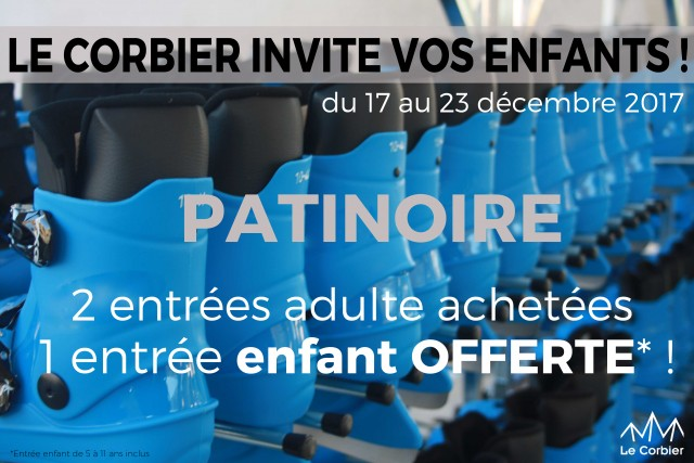 Offre Semaine Noël - Patinoire
